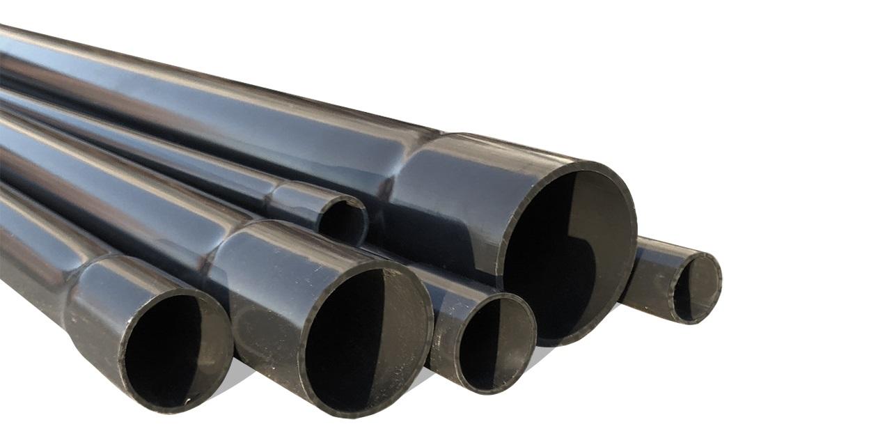 Трубопроводы из поливинилхлорида (ПВХ)