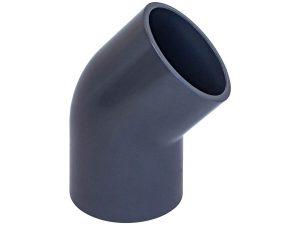 Отвод клеевой ПВХ AquaViva 45