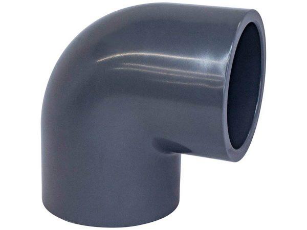 Отвод клеевой ПВХ AquaViva 90°